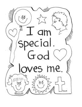 29 curated religion projects ideas by p40m catholic for God made me special coloring page