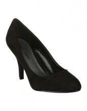Yearn in black suede $59.95