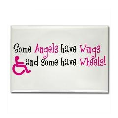 Our Angel traded her wheels for wings...forever in our hearts!