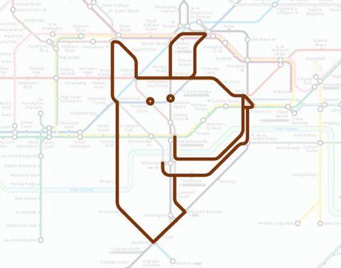 Subway : Paul Middlewick est un artiste anglais qui s'est penché sur les plans de métro Londonien.