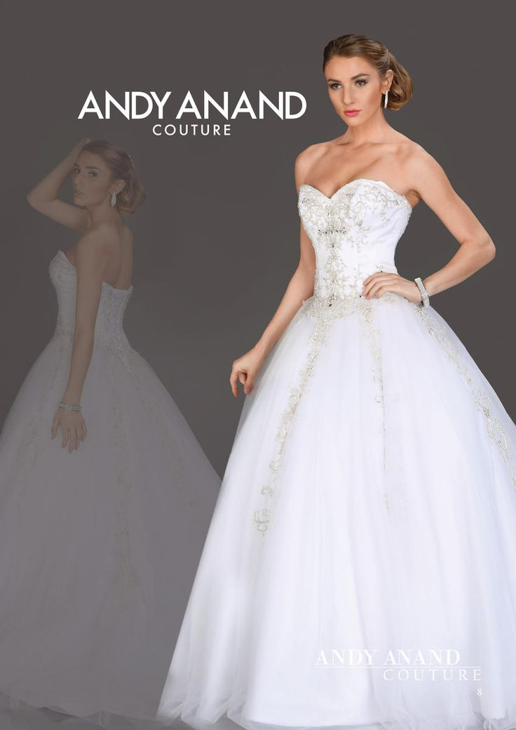 Great Andy Anand at Estelle us Dressy Dresses in Farmingdale NY bridal wedding dress