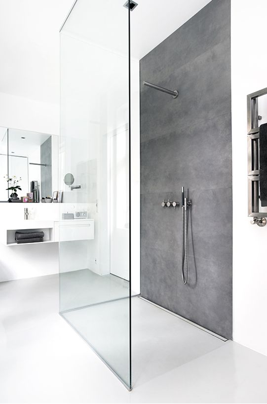 Wet room ideas - Scandinavian-inspired wet rooms are the way forward! #shower #design #bathroom