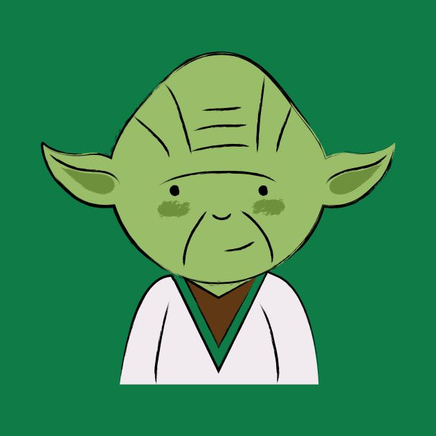 Awesome 'Yoda' design on TeePublic!