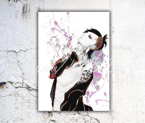 Tokyo Ghoul Uta / Tokyo Ghoul / Tokyo Ghoul print / by BigBroArt