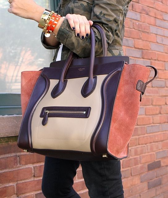 my style pill: Autumn colors in one beautifully designed handbag