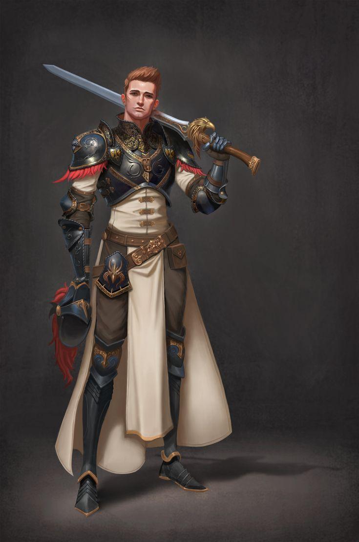 Royal knight, Hyeon Gwan Nam on ArtStation at https://www.artstation.com/artwork/wVvLY