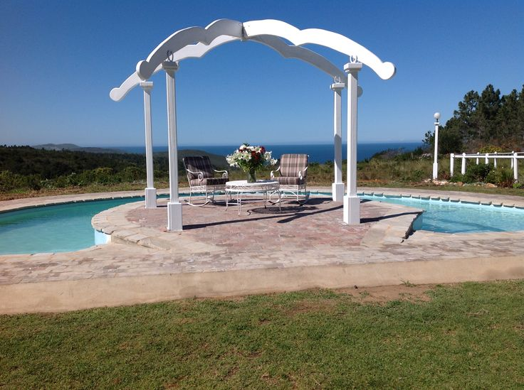 Swimming pool at T'Niqua Stable Inn 4 Star Guesthouse, Plettenberg Bay