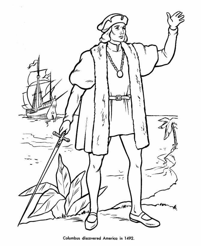 us history coloring pages events - photo#40