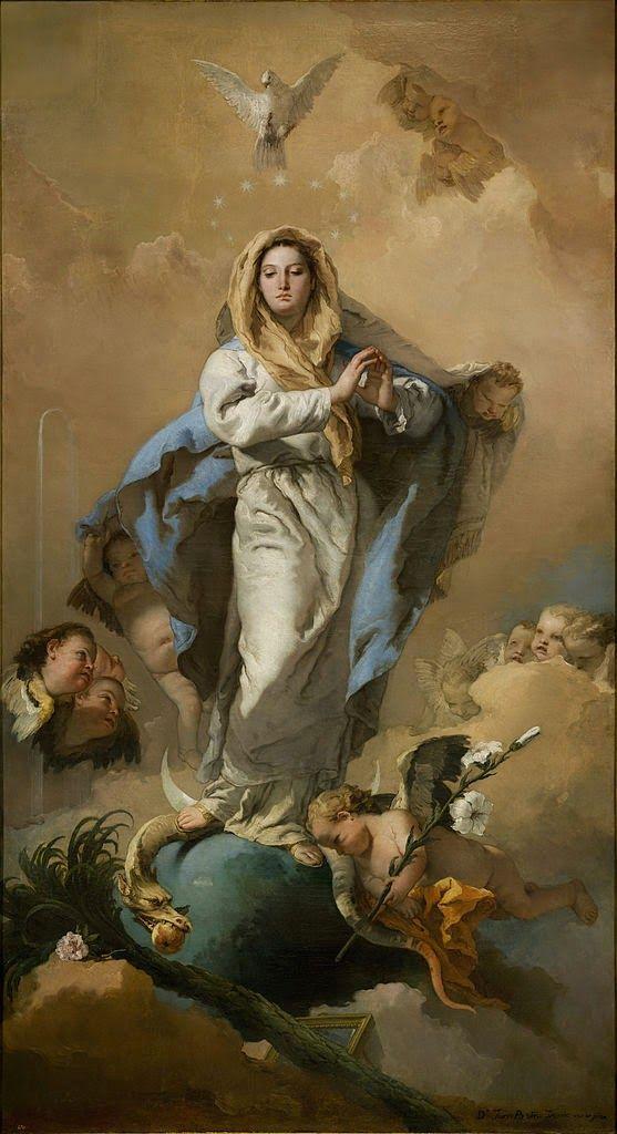 "Stella matutina: ""Mãe de Deus, virgem feita Igreja."""
