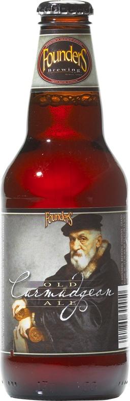 Founders - Curmudgeon Old Ale | Love the name, the label, the color and the smell of this brew, but it is too bitter for my palette. Glad I tried it, but not a favorite... Personal rating 5/10