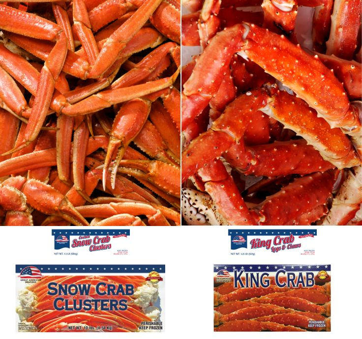 Southwind Foods Great American Seafood Imports Co Food Seafood King Crab