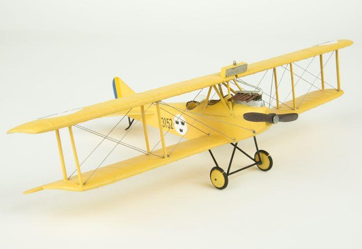 Model aeroplane Ö 2 Albatross   Flygvapenmuseum   CC BY