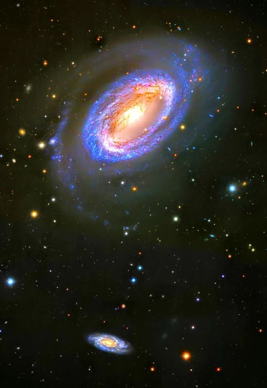 HST. .Spiras Mirabilis. . While most spiral galaxies, including ourown Milky...