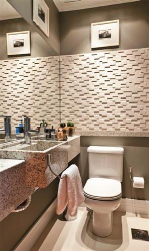 17 melhores ideias sobre Pia Para Banheiro Pequeno no Pinterest  Gabinete pa -> Pia Banheiro Estreita