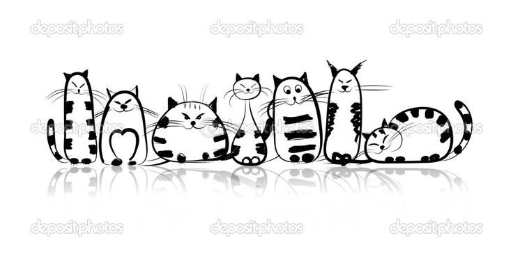 depositphotos_33439655-Funny-cats-family-for-your-design.jpg (1024×512)