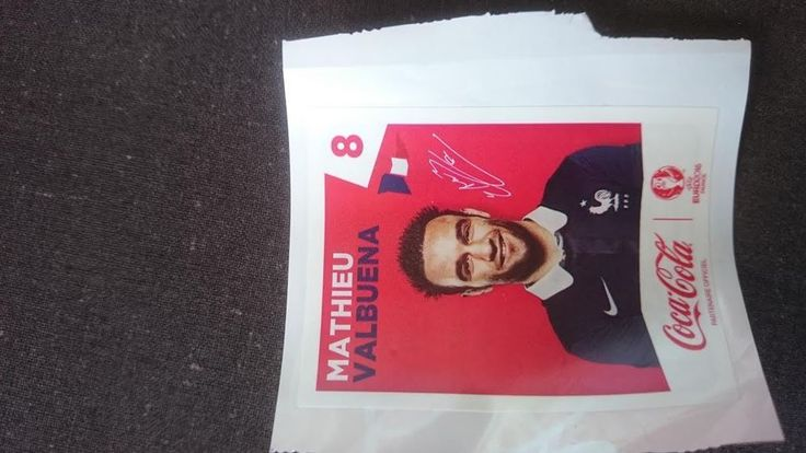 Stickers FRANCE EURO 2016 Panini COCA-COLA AU CHOIX