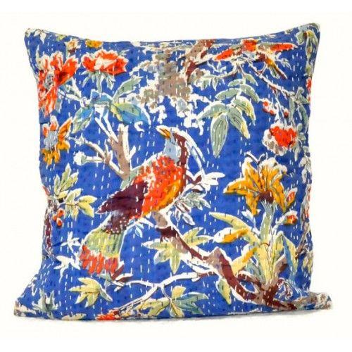 Cushion Cover in Bird Design
