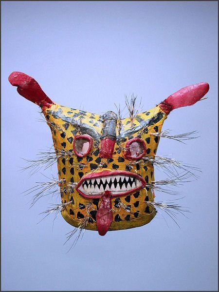 Tigre mask, Zitlala, Guerrero, México