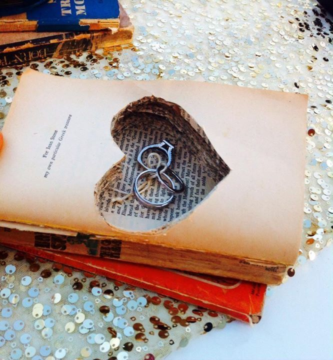 we used this vintage book for a different pillow