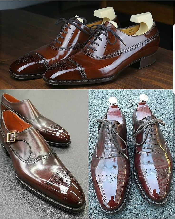 Styles Leather virileman5 Various Brown Of Dress Men's Shoes 47AOddwq