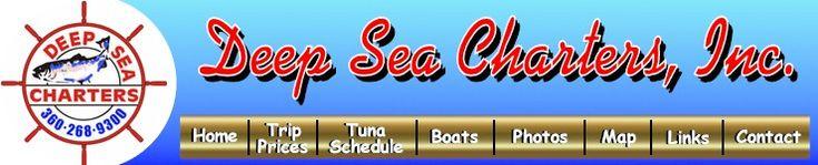 Deep Sea Charters, Inc. - fishing charters,sportfishing,sport fishing,deep water fishing,coast of washington,salmon fishing,halibut fishing,...