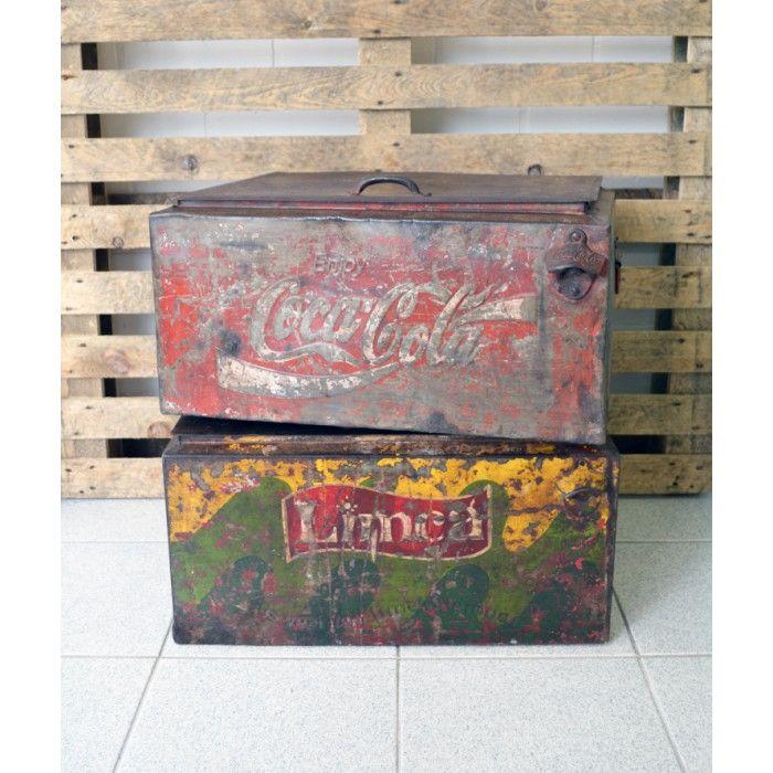 Metallinen kylmälaatikko - Coca Cola, Metal cooling box