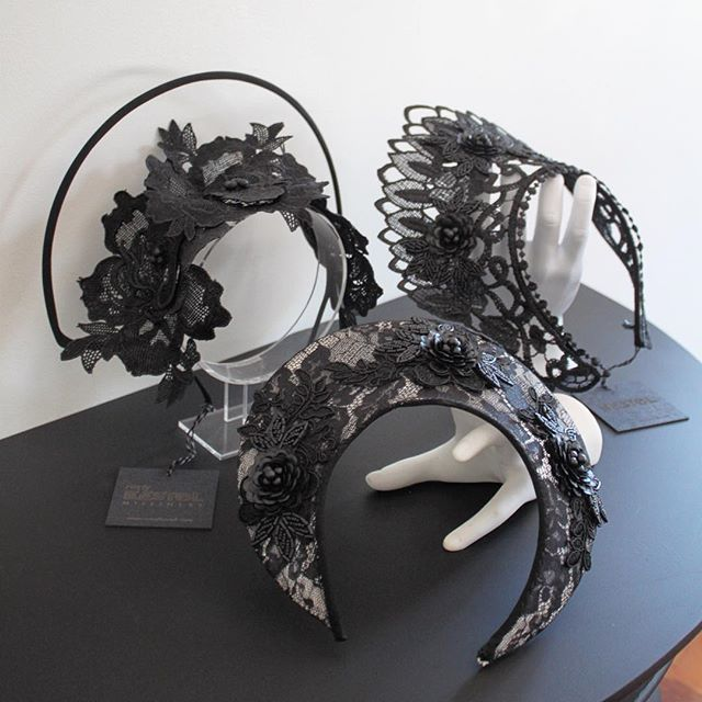 Reny Kestel Designer of luxurious handmade hats, headpieces & bridal millinery #lace #wireframe #judithm