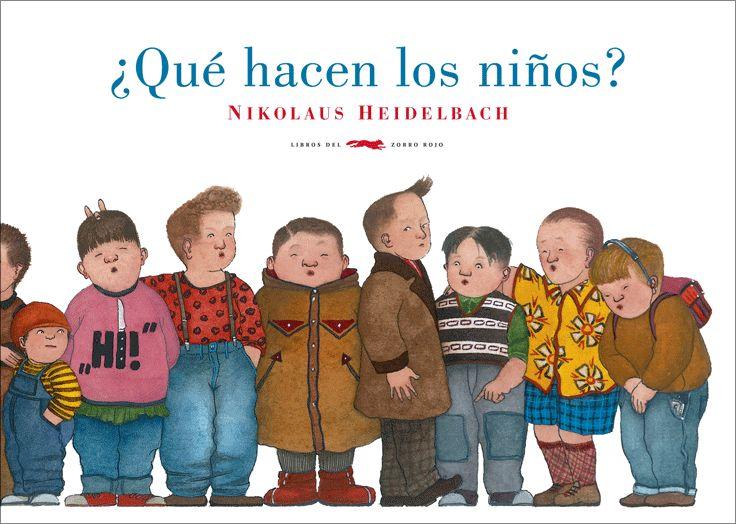 En «¿Qué hacen los niños?», de Nikolaus Heidelbach en  Libros del Zorro Rojo, se respira a Gorey. Humor e imaginación que huyen de lo políticamente correcto mediante imágenes inquietantes.  http://www.veniracuento.com/