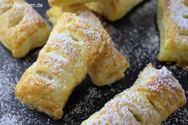 Süß und knusprig leckere Apfeltaschen nach Mario Kotaska Rezept.