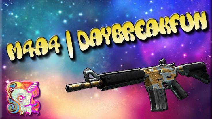 """CS:GO-TOP 5-Sticker Combinations: """"M4A4""""   Daybreak (Рассвет)"""