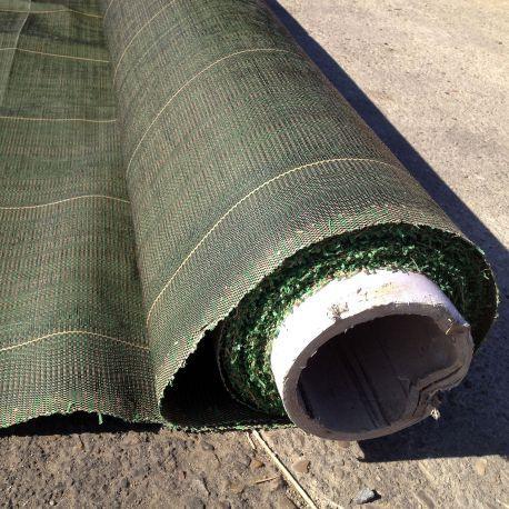 Toile de paillage vert 80g à la coupe Couleur : verten rouleau de 2m au m2 précisez lors de votre commande la largeur désirée. Nous découpons sur mesure