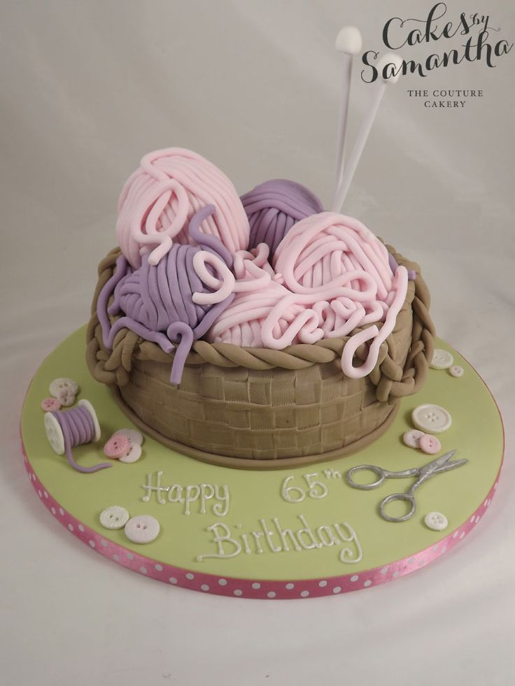 Old Lady Knitting Cake Topper : Images about cakes for women on pinterest th