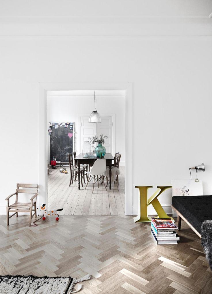 ATELIER RUE VERTE le blog: Copenhague / Un appartement de 200m² bien décoré /