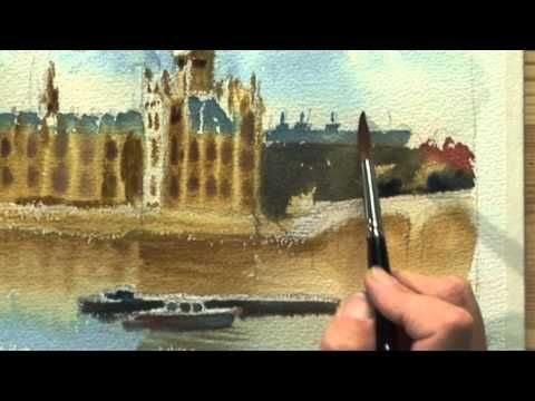 Painting London with Hazel Soan Two - Part Two - YouTube