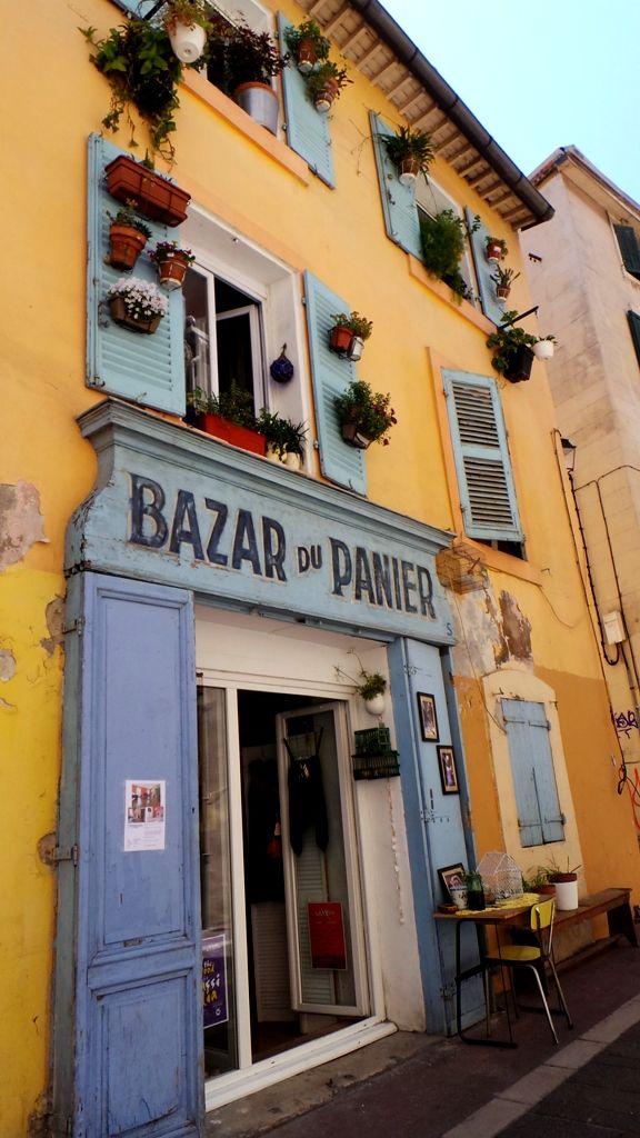 Bazar in Marseille France, quartier du Panier marseille