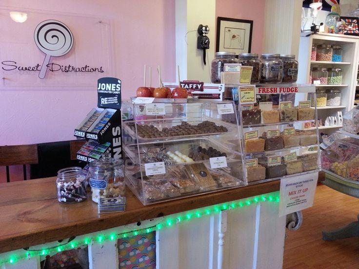 Mmmm, Sweet Fudge at Sweet Distractions, Elora Ontario.