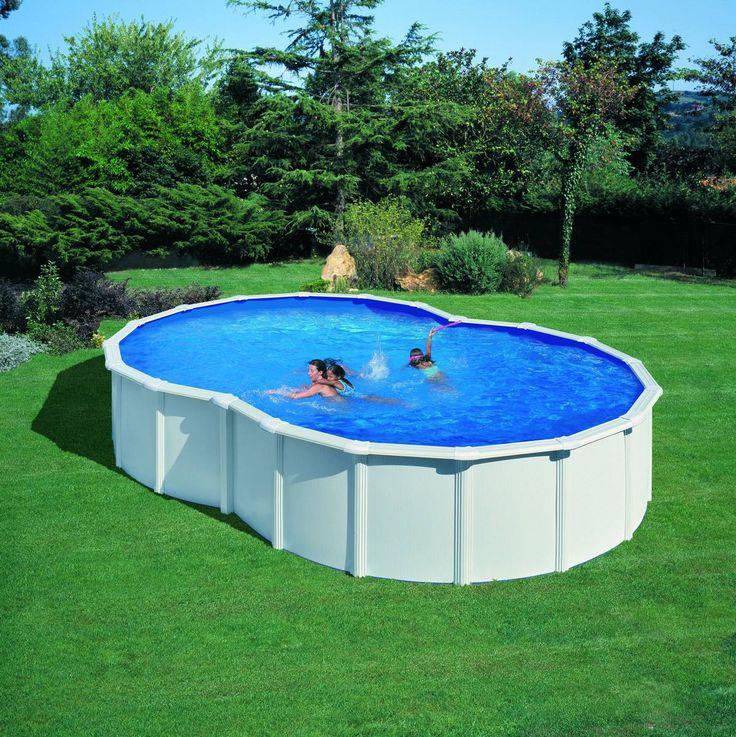 17 meilleures id es propos de piscine hors sol acier sur for Piscine tubulaire ou acier