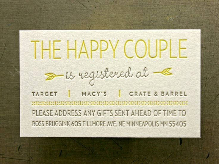 Wedding Registry Cards Template from i.pinimg.com