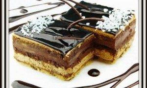 ΓΛΥΚΟ ΨΥΓΕΙΟΥ...Πανδαισία σοκολατας!  Μερίδες 12    Υλικά  500γρ φυτική Σαντιγύ ( κρετορε)  1 κουτί γάλα ζαχαρούχο  250 γρ κουβερτούρα  1 1 ½ πακέτο πτι-μπερ  ½ φλιτζάνι γάλα φρέσκο η εβαπορέ  1 σφηνάκι κονιάκ (προαιρετικά)  Επικάλυψη  Σαντιγύ με ξηρούς καρπούς η τρίμμα κουβερτούρας  Κουβερτούρα λιωμένη με νιφάδες