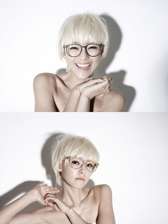 I want these glasses..... and maybe this hair style if I'm feeling brave enough.