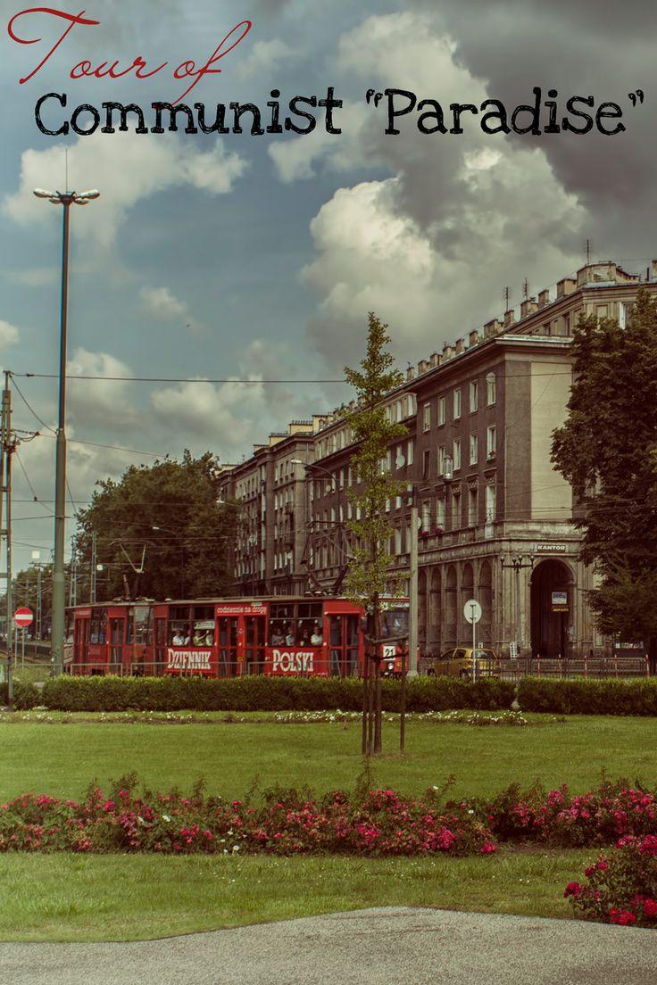 "Tour of Nowa Huta, a Cold War ""communist paradise"" in Poland."