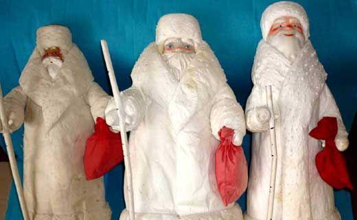 Дед Мороз своими руками: ватное папье-маше | ДомСтрой