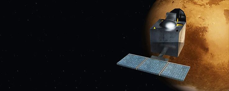 Indian Space Research Organization's Mars Orbiter Mission (MOM) spacecraft started orbiting the red planet