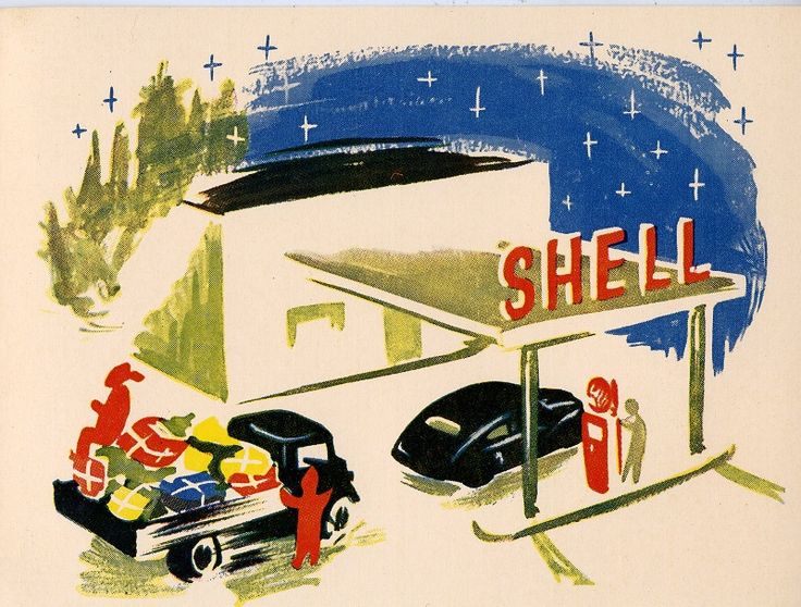 #Shell #joulu #huoltoasemat #tontut #autot #christmas