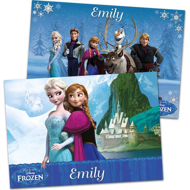 I Just Love It Disney Frozen Personalised Placemat Disney Frozen Personalised Placemat - Gift Details. Disneys Frozen is the newest sensation - loved by little ones everywhere! So why not encourage them to the dinner table with this lovely personalise http://www.MightGet.com/january-2017-11/i-just-love-it-disney-frozen-personalised-placemat.asp