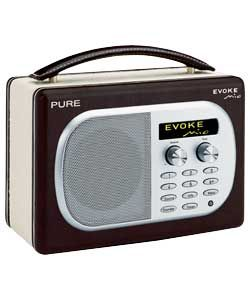 Pure Digital EVOKE Chocolate Portable Dab Radio http://www.comparestoreprices.co.uk/portable-audio/pure-digital-evoke-chocolate.asp