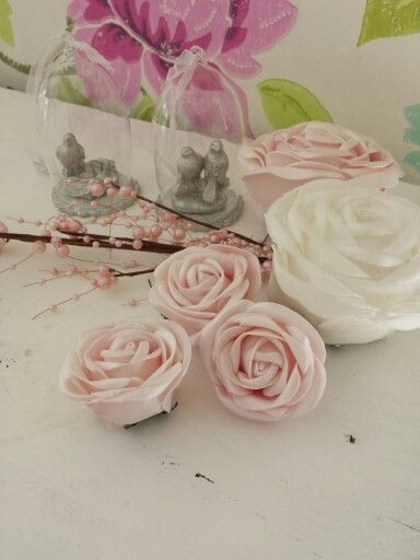 Ros dekoration