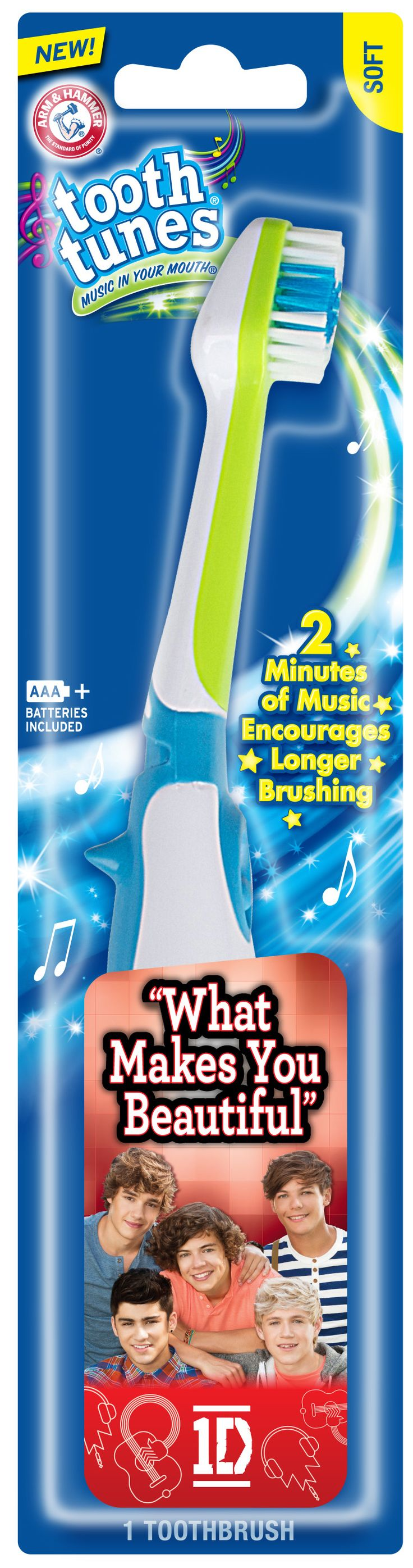 ARM & HAMMER™ Tooth Tunes™ One Direction Toothbrush Product Review #spon #ToothTunes1D
