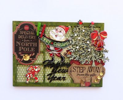 Tando Creative: Christmas printers tray : Anything goes week with Irit