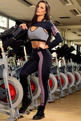 Calça Ledesma - Hipkini 3334762 Dani Banani Fashion Fitness
